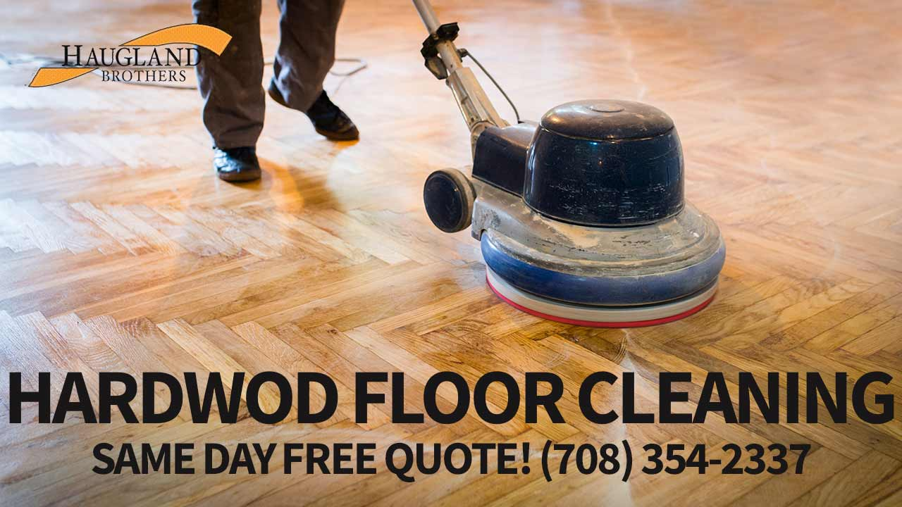 Hardwood Floor Cleaning